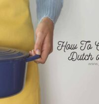 How To Clean A Dutch oven?