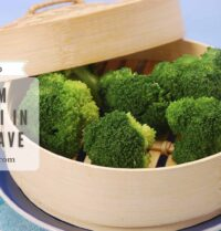 How To Steam Broccoli In Microwave