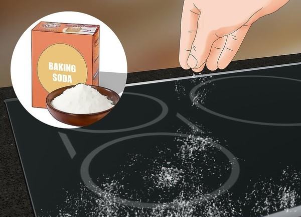 How to Clean Electric Cooktop with Baking Soda