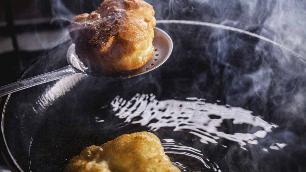 Influence Of Skills Used In The Meat Processing Frying Pan