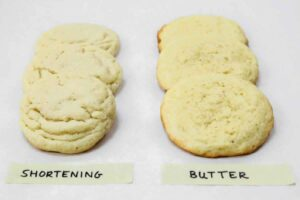 Selecting between Butter and Shortening