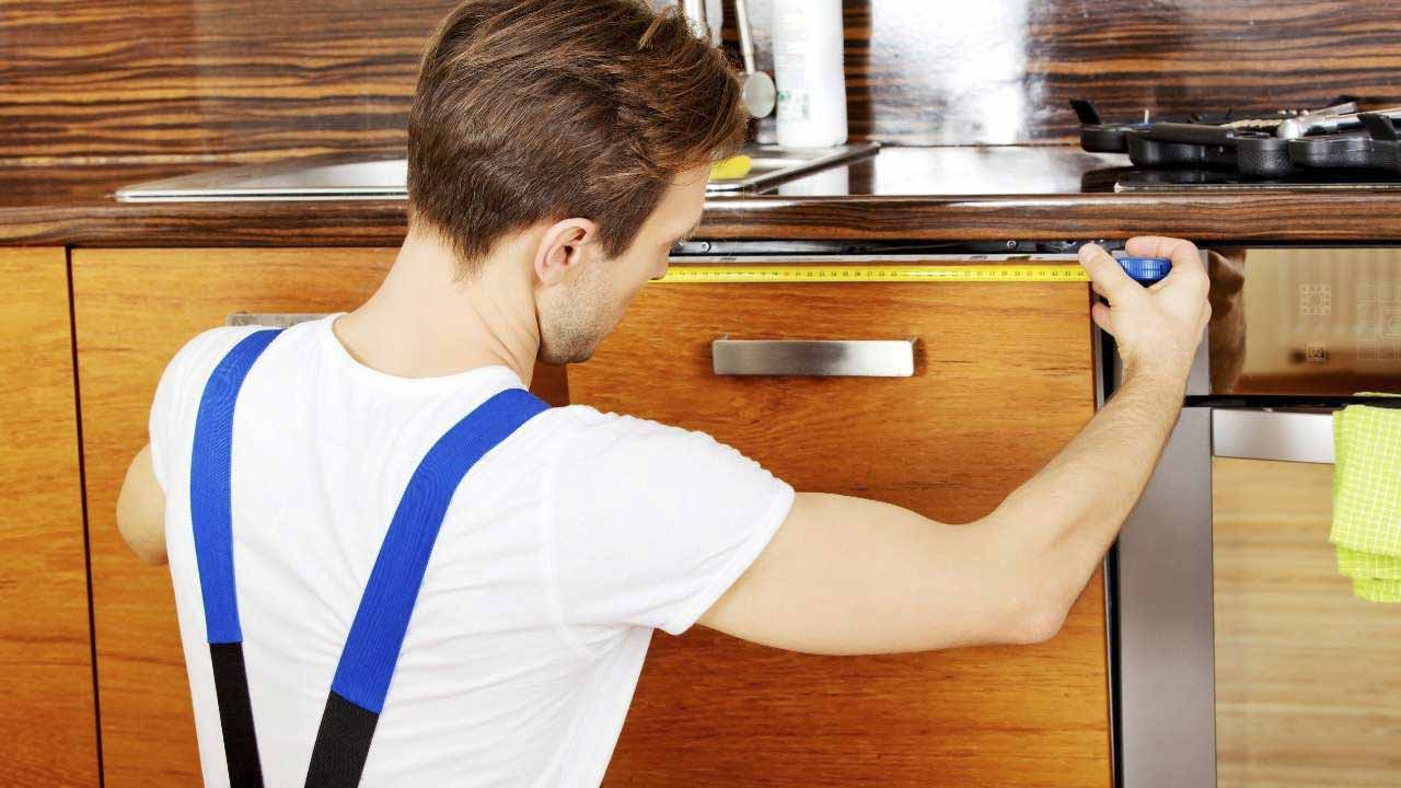 how to install a wall oven in a base cabinet-step-4