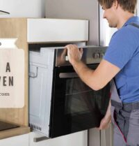 how to remove a wall oven