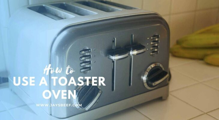 how to use a toaster oven
