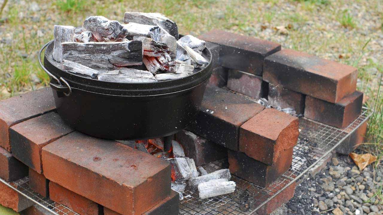 rules when using a Dutch oven