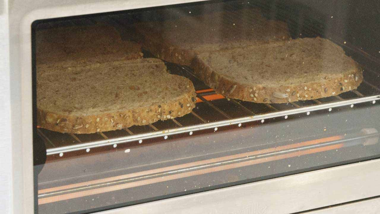 toaster oven settings for toasting