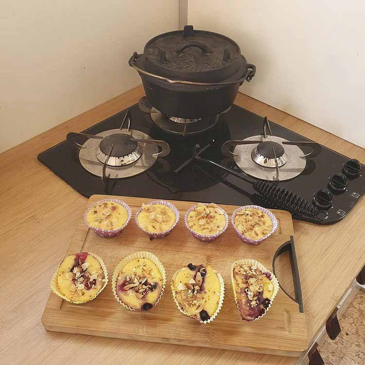 using a dutch oven for stove and oven cooking